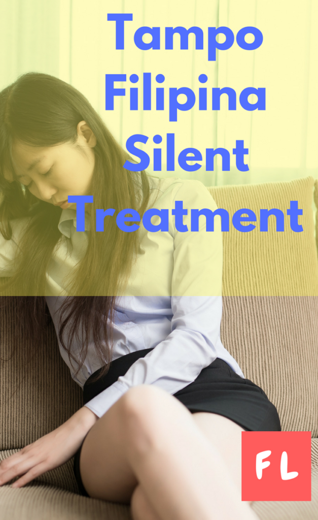 Tampo Philippines silent treatment